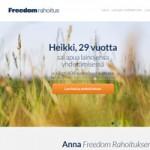 Kilpailuta kulutusluottosi Freedom Rahoituksella