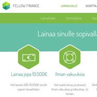 Kuvakaappaus Fellow Finance lainapalvelusta
