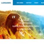 Kuvakaappaus Lainaamo.fi kulutusluottopalvelusta