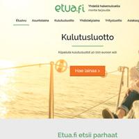 Etua.fi lainahakemuksen kilpailutus